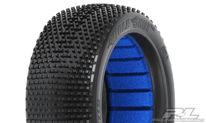 Pro-Line Hole Shot 2.0 M3 (Soft) Off-Road 1/8 Buggy Tires (2) for Front or Rear