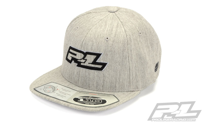 Pro-Line Threads Gray Snapback Hat (One Size Fits Most)