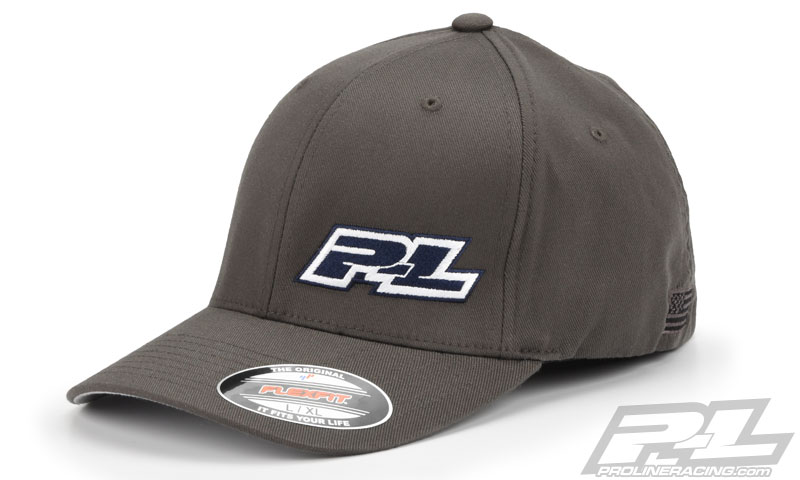 Pro-Line Gray FlexFit Hat (L-XL)