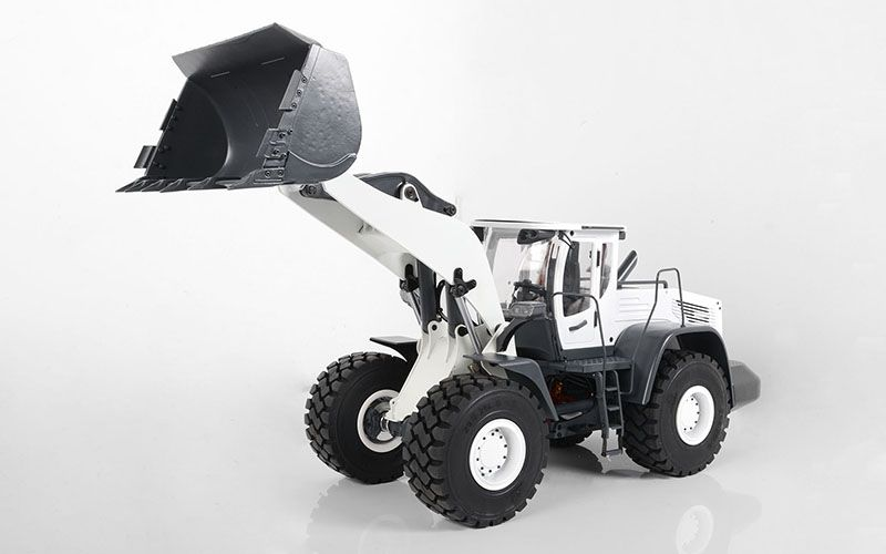 RC4WD 1/14 Scale Earth Mover 870K Hydraulic Wheel Loader (White