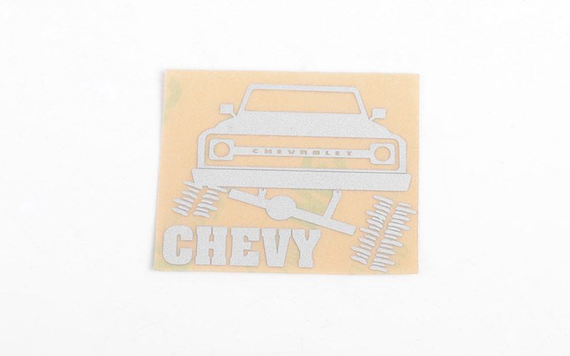 RC4WD Chrome Chevy Decals