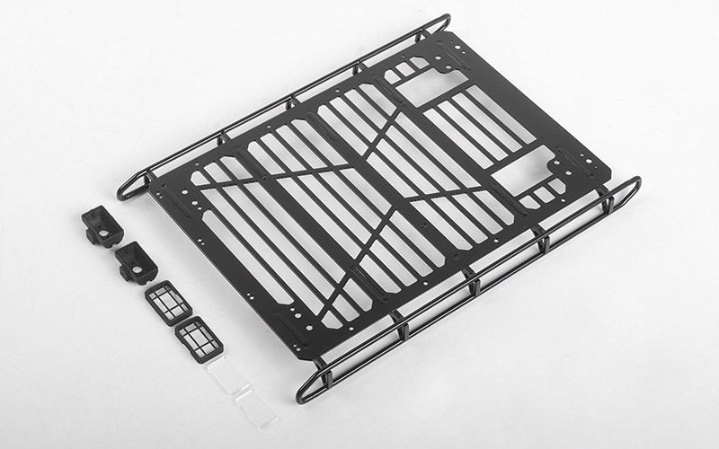 RC4WD Adventure Roof Rack w/ Rear Lights for Traxxas TRX-4 Mercedes-Benz G-500