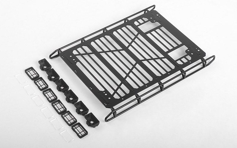 RC4WD Adventure Roof Rack w/ Front and Rear Lights for Traxxas TRX-4 Mercedes-Benz G-500