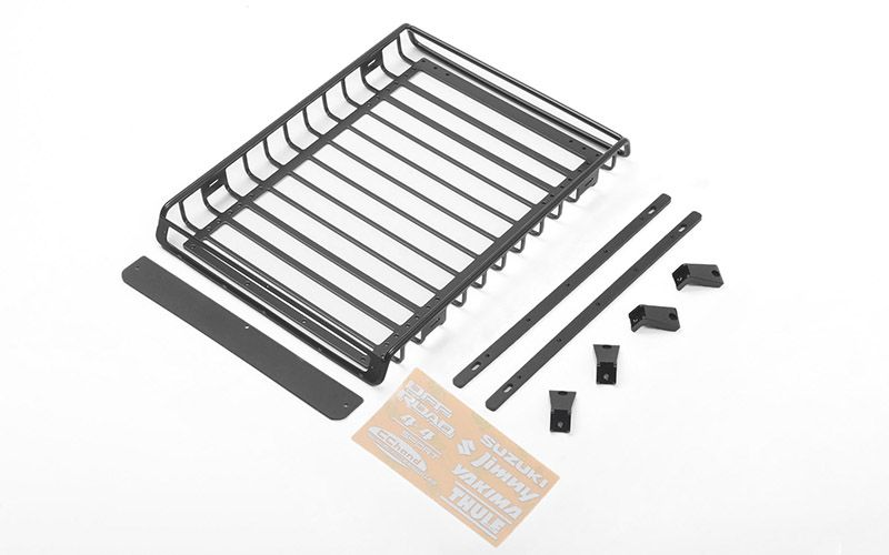 RC4WD Choice Roof Rack and Roof Rack Rails for Capo Racing Samurai 1/6 RC Scale Crawler