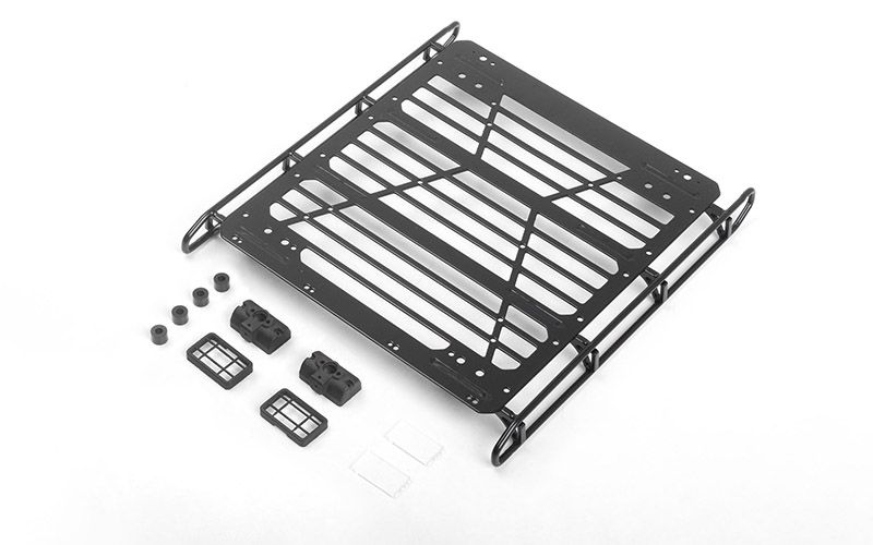 RC4WD Adventure Steel Roof Rack w/ Lights for Mercedes-Benz G 63 AMG 6x6
