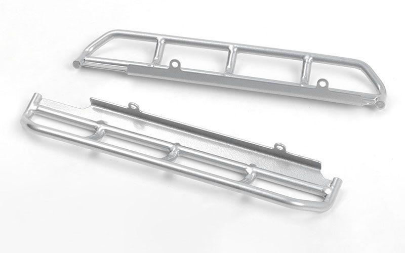 RC4WD Krabs Steel Tube Side Sliders for Vanquish VS4-10 Origin Body (Silver)