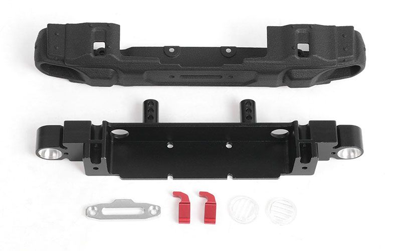 RC4WD OEM Narrow Front Winch Bumper for Axial 1/10 SCX10 III Jee