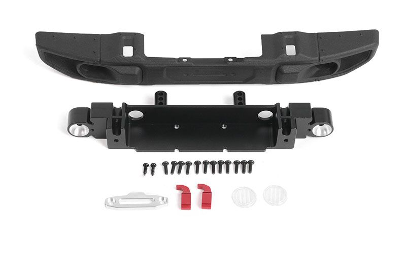 RC4WD OEM Wide Front Winch Bumper for Axial 1/10 SCX10 III Jeep