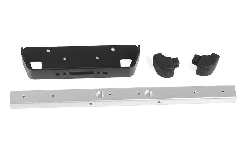 RC4WD Classic Front Winch Bumper for RC4WD Gelande II 2015 Land