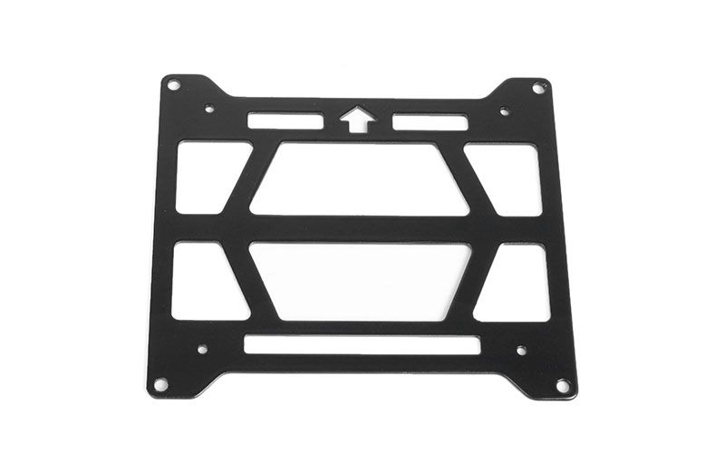 RC4WD Adventure Rooftop Tent Steel Rack for Axial 1/10 SCX10 III Jeep JT Gladiator