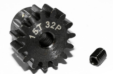 RC4WD 32P Hardened Steel Pinion Gear (15)