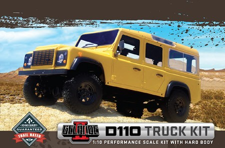 RC4WD Gelande II D110 Truck Kit With Hard Body