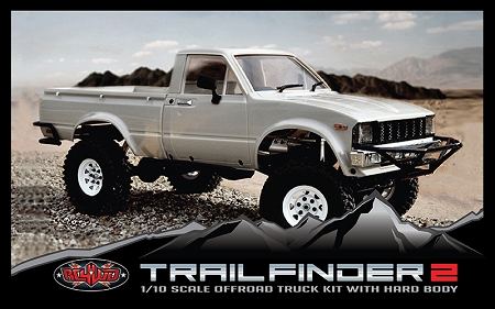 RC4WD Trail Finder 2 Truck Kit w/Mojave II Body Set