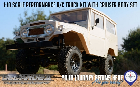 RC4WD Gelande II Truck Kit w/Cruiser Body Set