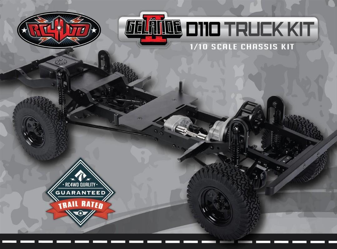 RC4WD Gelande II Truck Kit