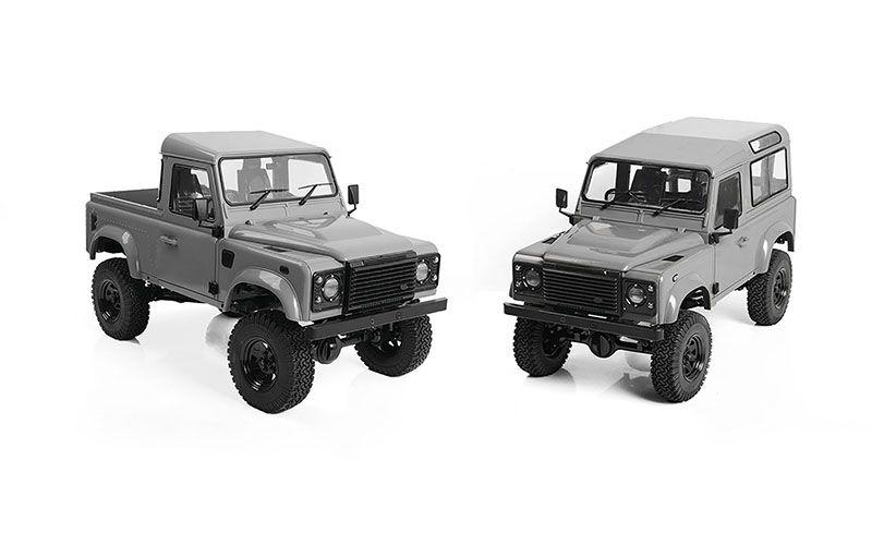 RC4WD Gelande II Truck Kit W/ 2015 Land Rover Defender D90 Body Set