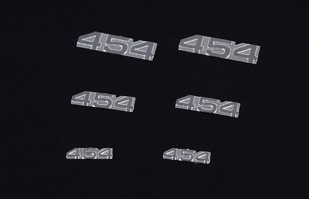 RC4WD 1/10 454 Emblem Set