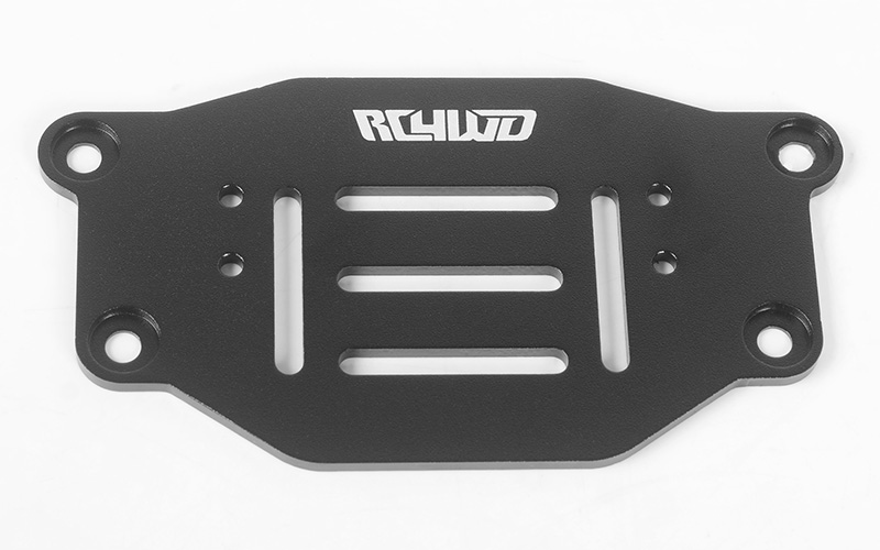 RC4WD Warn Winch Mounting Plate for TRX-4 1979 Bronco Ranger XLT