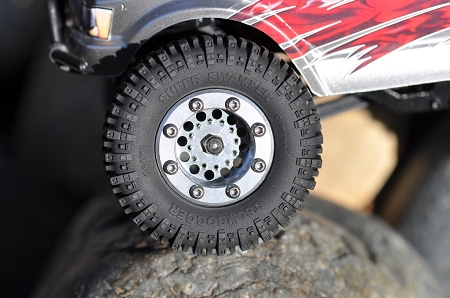 "RC4WD 1.0"" Interco Super Swamper TSL/Bogger X3 Tire 1.95"" OD (2)"