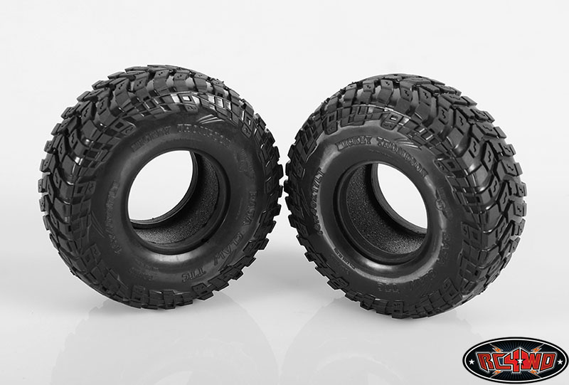 "RC4WD Mickey Thompson 1.7"" Baja Claw TTC Radial Scale Tires"