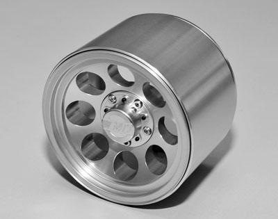 RC4WD Mickey Thompson Classic III Silver Beadlock Wheels for Traxxas Revo and T-Maxx 3.3 (17mm hub)