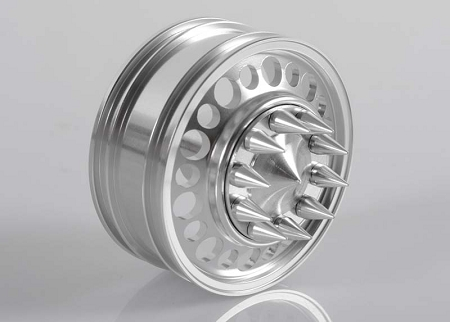 RC4WD Choas Semi Truck Front Wheels w/Spiked Caps