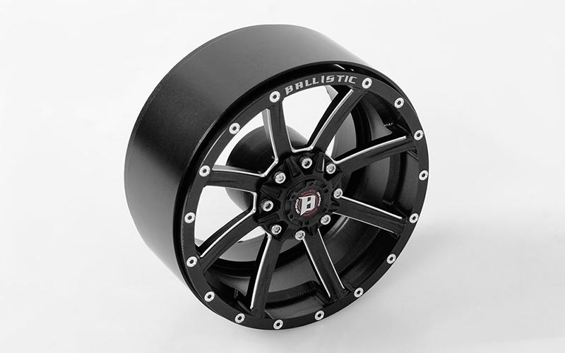 RC4WD Ballistic Offroad Razorback 2.2 in Beadlock Wheels