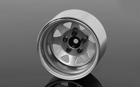 RC4WD 5 Lug Deep Dish Wagon 1.9 in Steel Stamped Beadlock Wheels (Plain)