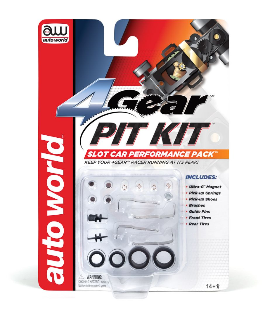 Auto World 4Gear Pit Kit