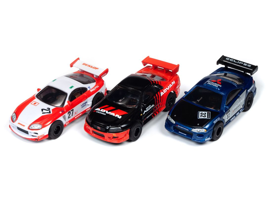X-Traction Slot Cars - Import Heat - Release 28 (12 Cars)