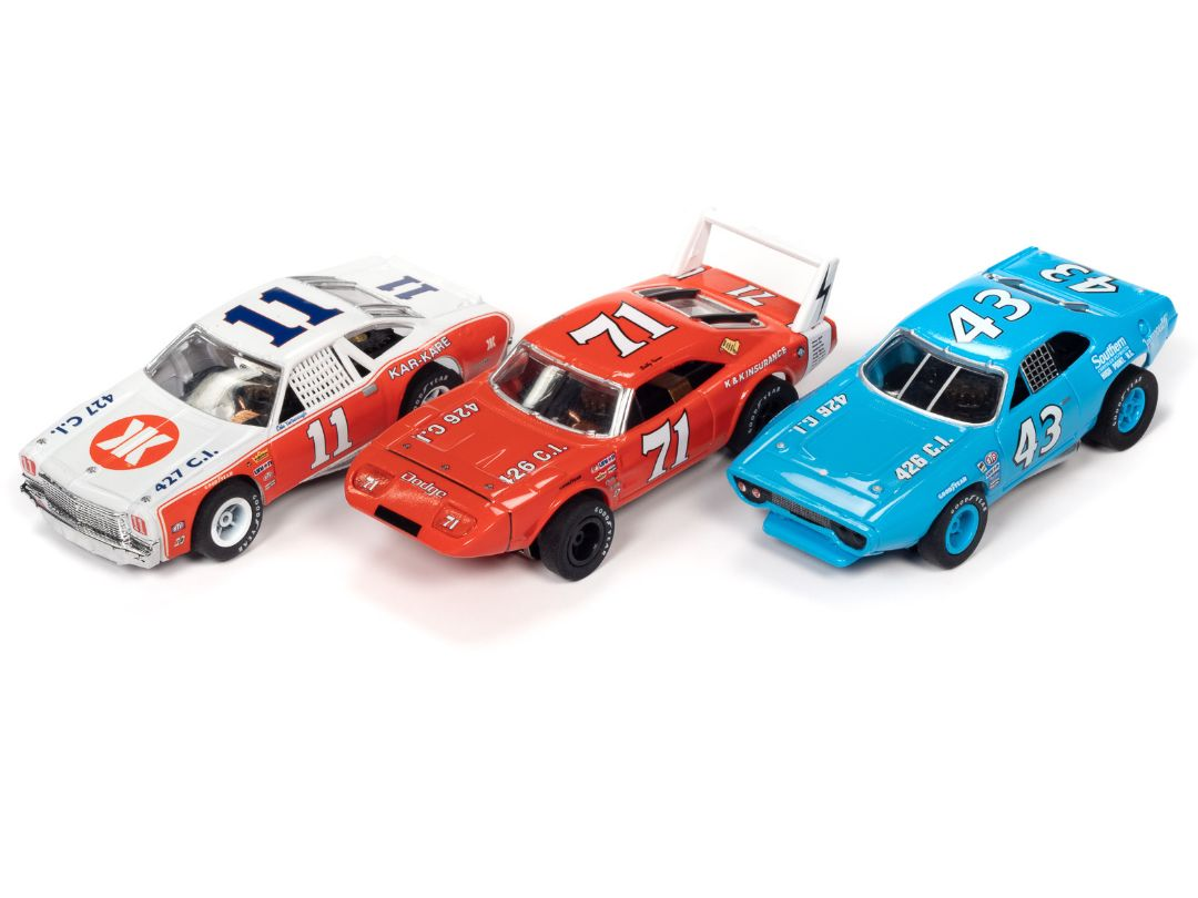 X-Traction Slot Cars - Stock Car Legends - Release 31 (12 Cars)