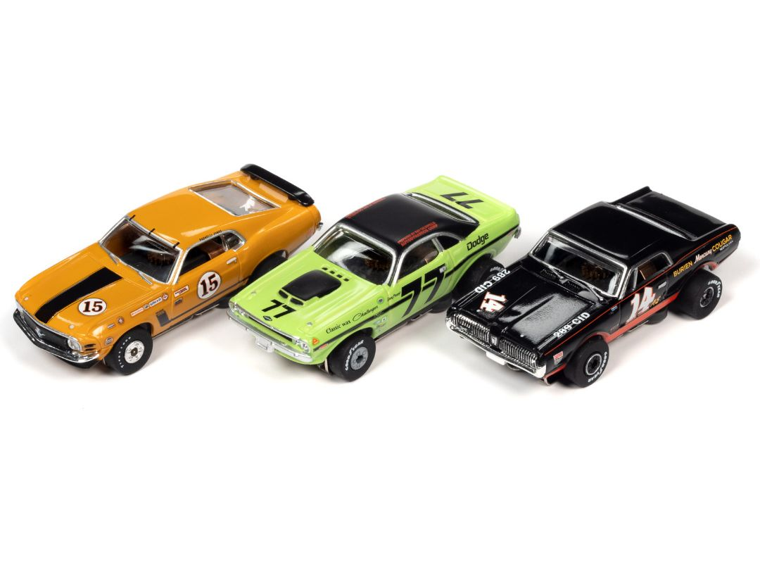 Thunderjet Slot Cars - Trans Am Racers (12 cars)