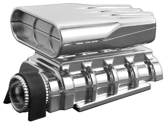 RPM Mock Intake & Blower Set - Chrome