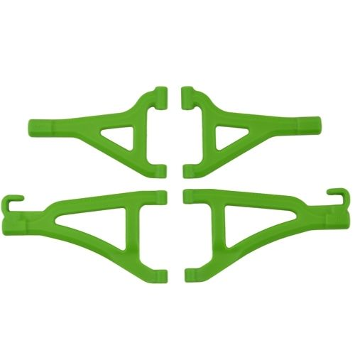RPM Front A-arms for the Traxxas 1/16 E-Revo - Green