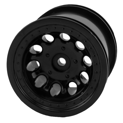 RPM Revolver Rear Wheels for Traxxas Electric Rustler & Electric Stampede 2wd - Black
