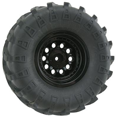 RPM Revolver Crawler Wheels - Wide Wheelbase - Black