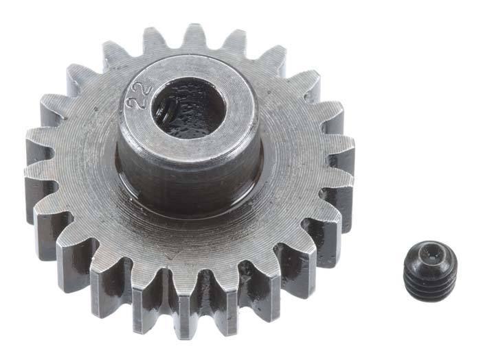 Robinson Racing Mod 1 Extra Hard Steel Pinion Gear 5mm Shaft (22)