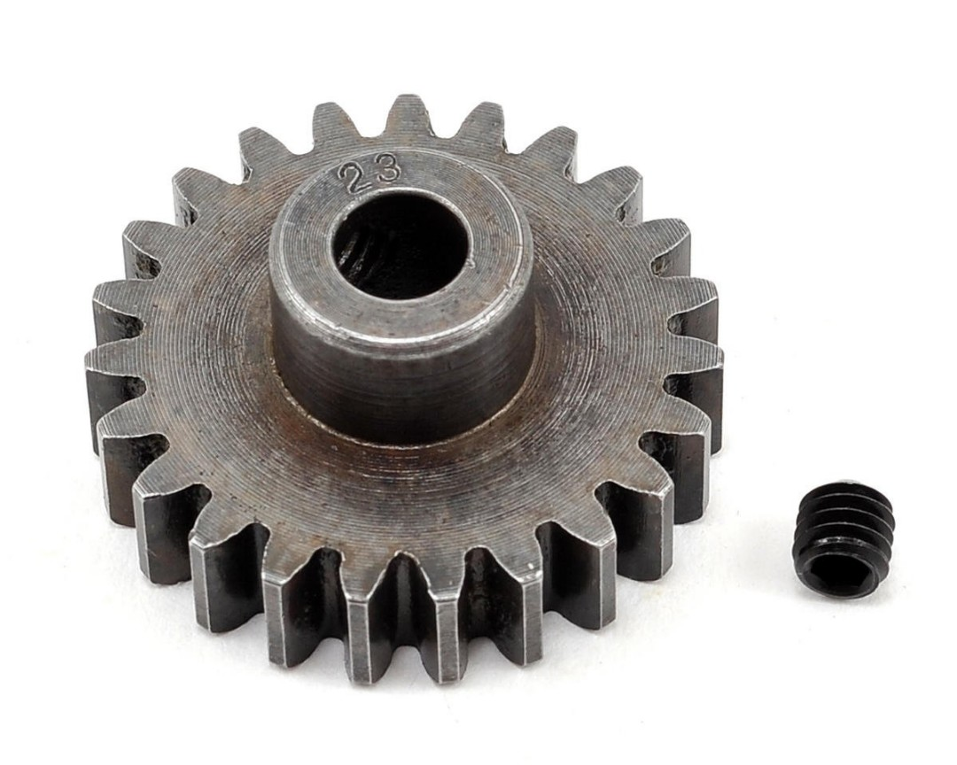 Robinson Racing Mod 1 Extra Hard Steel Pinion Gear 5mm Shaft (23)