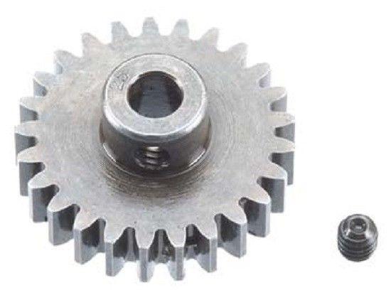 Robinson Racing Mod 1 Extra Hard Steel Pinion Gear 5mm Shaft (25)