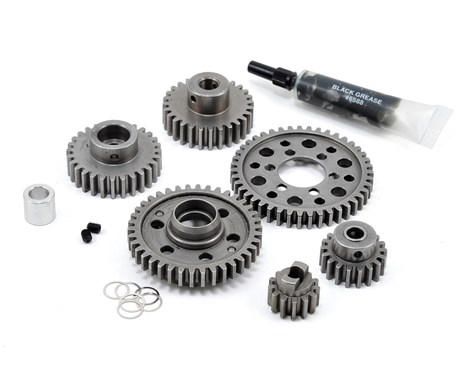 Robinson Racing All Steel Forward-Only Gear Kit - Wide Ratio (13x18). 38 Tooth 2nd Gear.