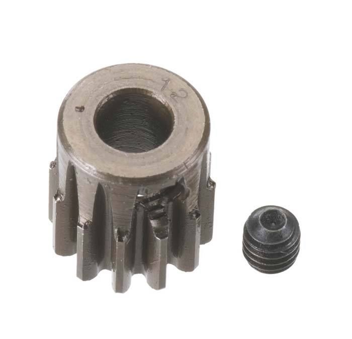 Robinson Racing Extra Hard Steel .8 Mod Pinion Gear w/5mm Bore (12)