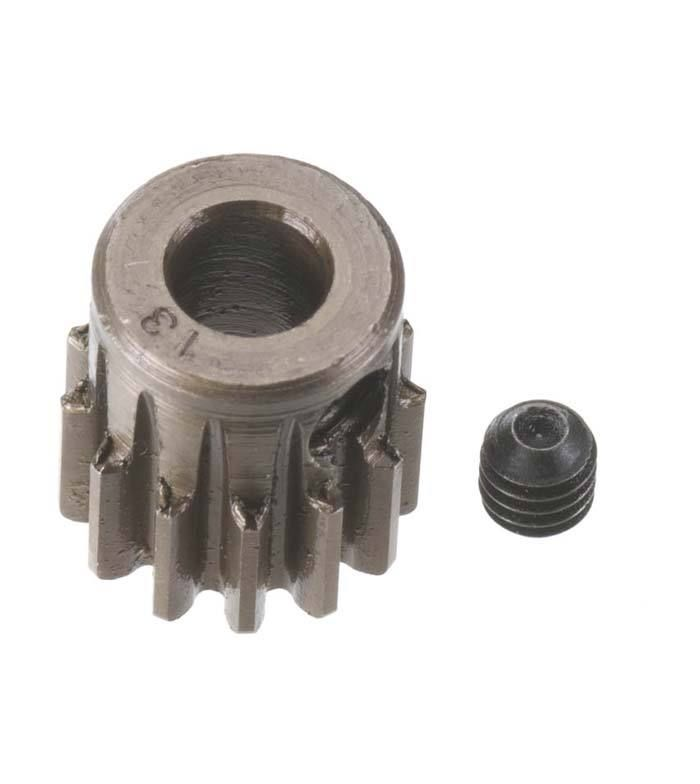 Robinson Racing Extra Hard Steel .8 Mod Pinion Gear w/5mm Bore (13)
