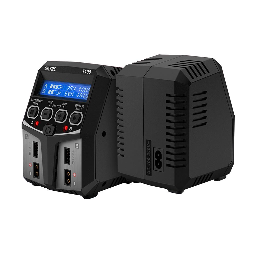 SkyRC T100 Dual Balance Charger 50W X 2, 5A