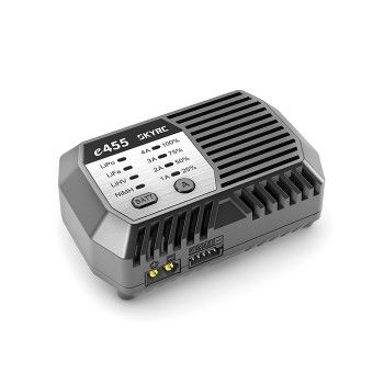 SkyRC e455 Battery Charger, AC Only, 4A, 50W, XT60