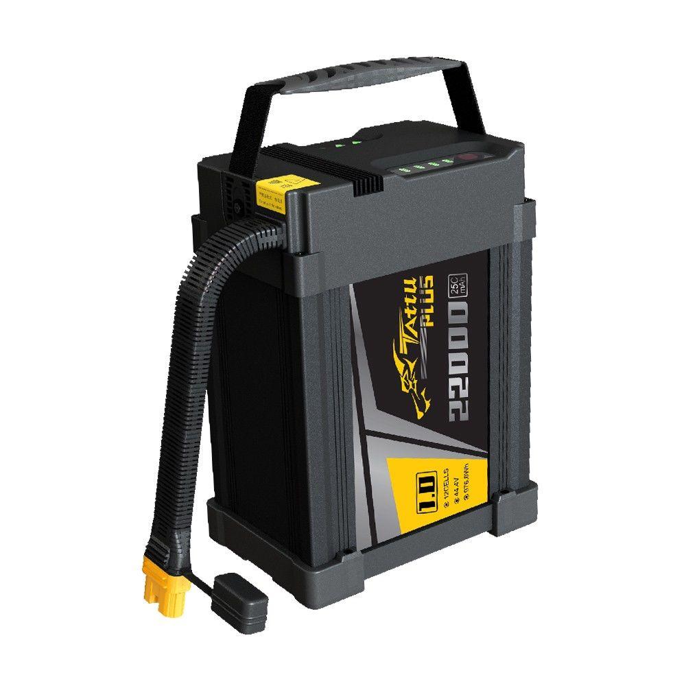 Tattu - 639 - 22000mAh 12S1P 44.4V 25C LiPo Smart Battery Pack AS150U Plug 224x163x90mm
