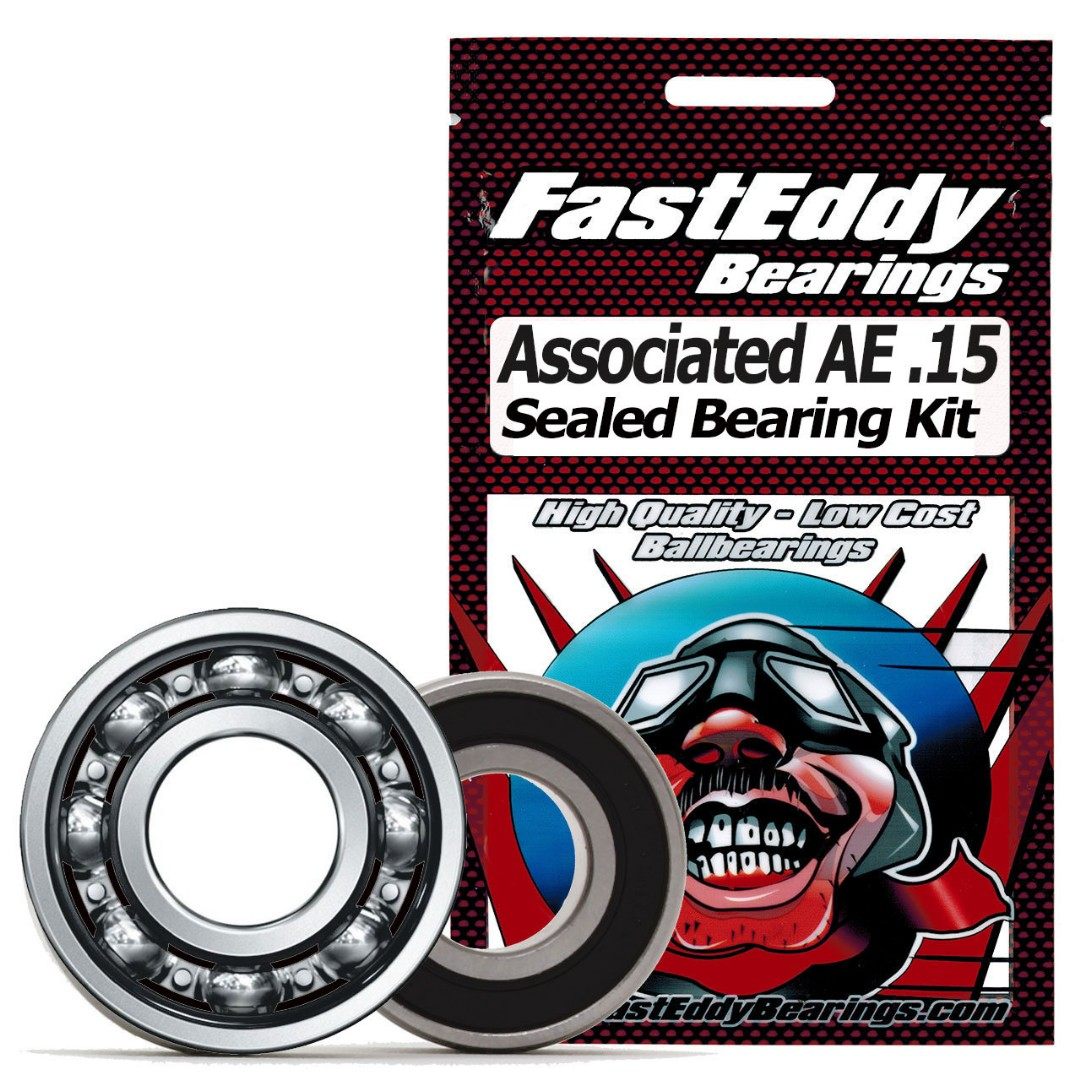 Fast Eddy Team Associated AE .15 Sealed Bearing Kit