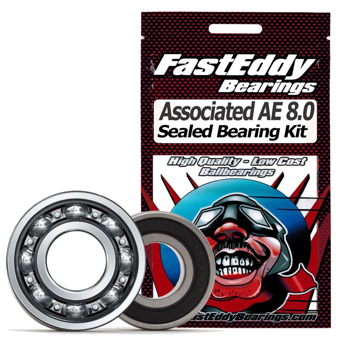 Fast Eddy Team Associated AE 8.0 Sealed Bearing Kit