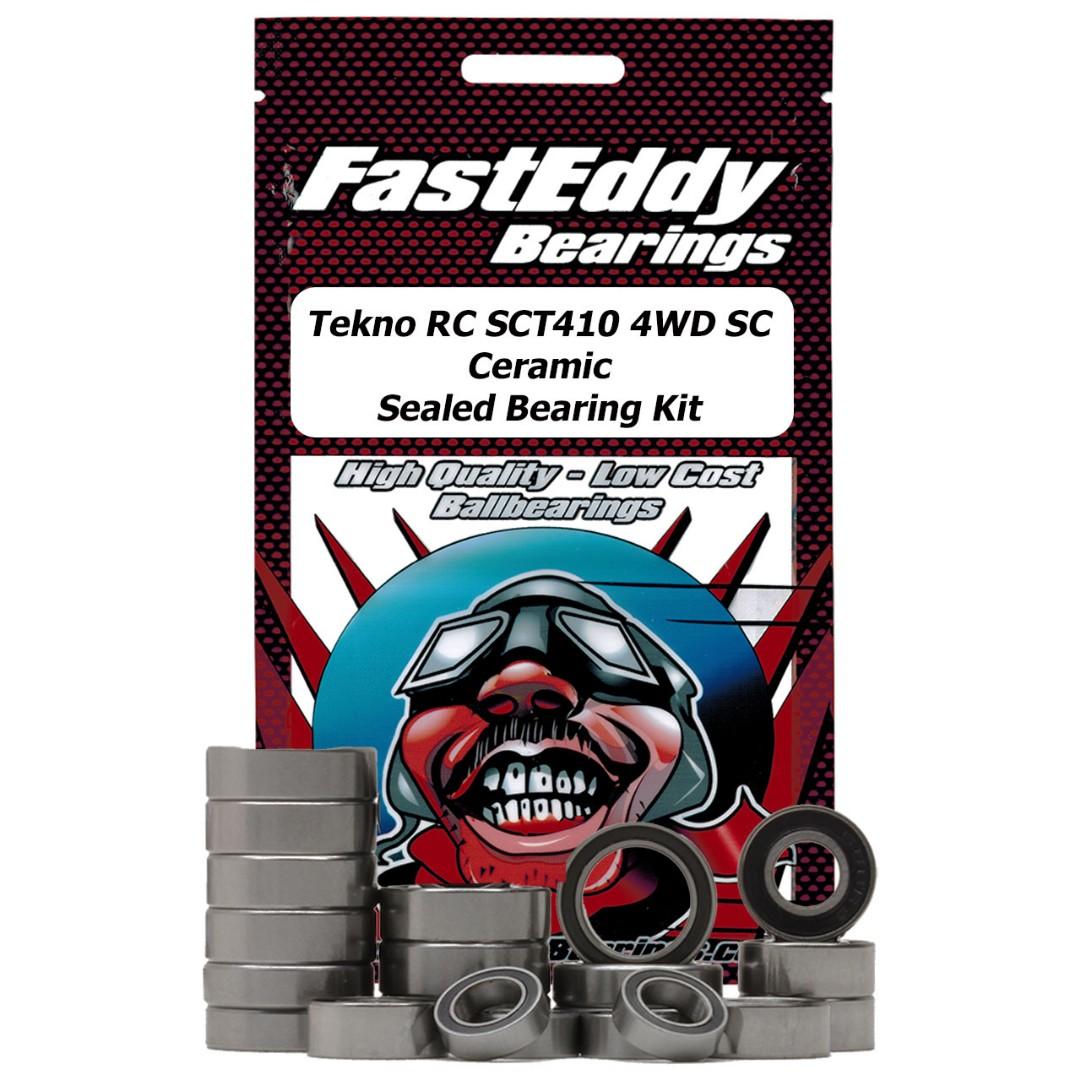 Fast Eddy Tekno RC SCT410 4WD SC Ceramic Sealed Bearing Kit