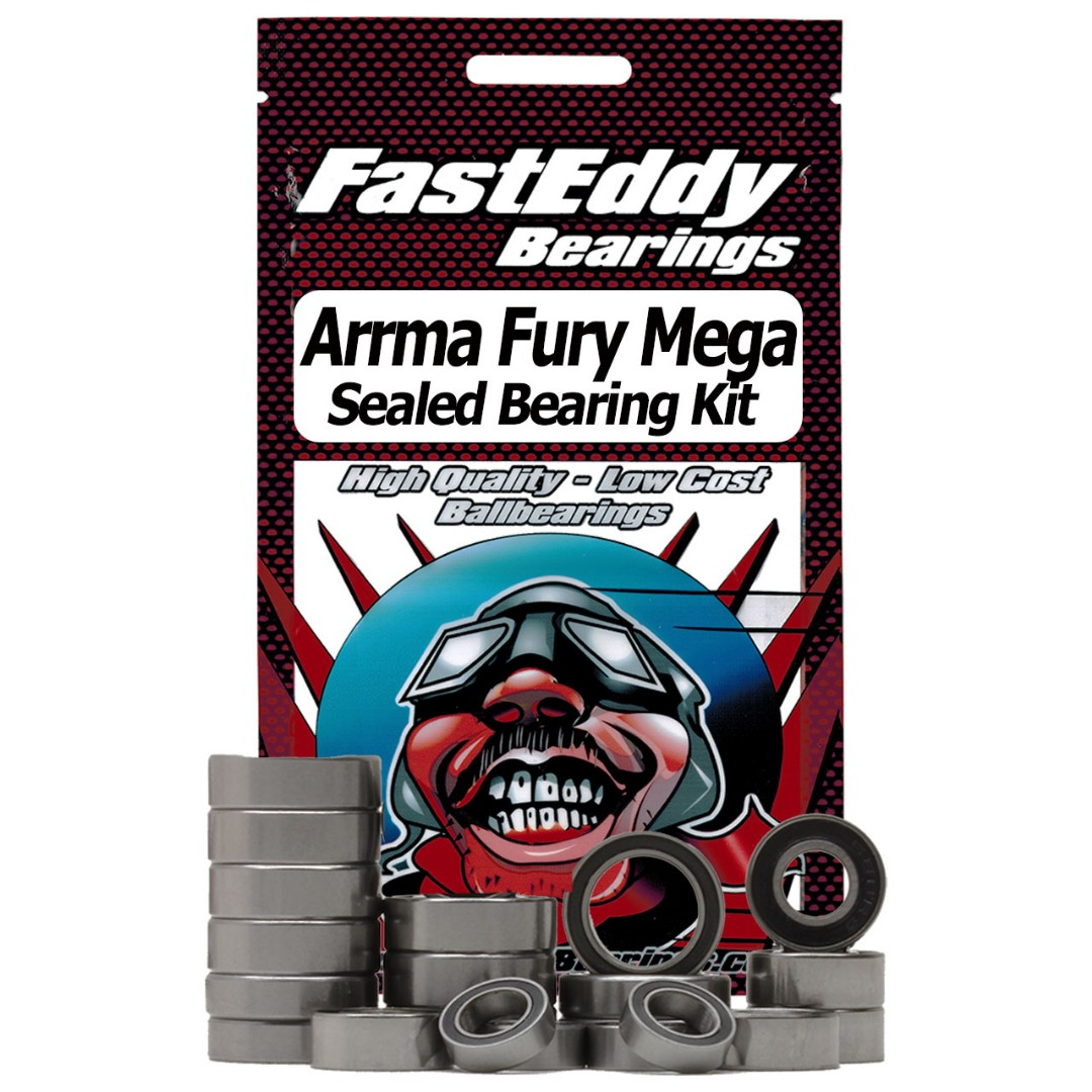 Fast Eddy Arrma Fury Mega Short Course 2014 Sealed Bearing Kit