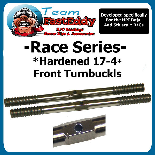 "Fast Eddy Front Turnbuckles ""Race Series"""